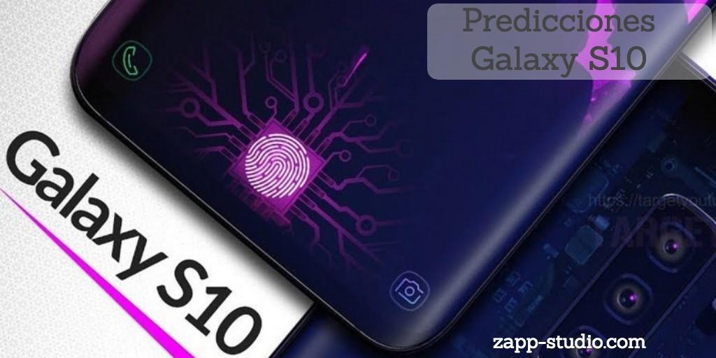Predicciones del Galaxy S10