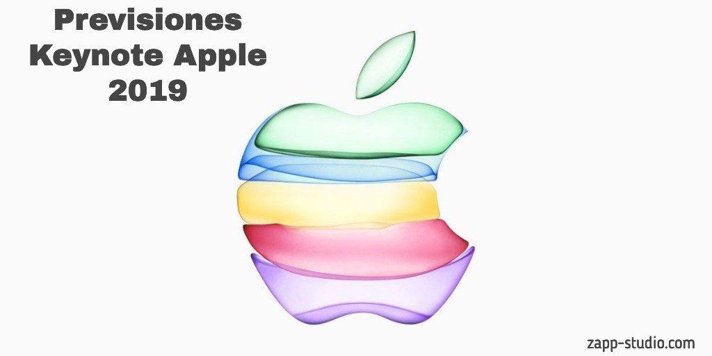 Previsiones Keynote Apple 2019