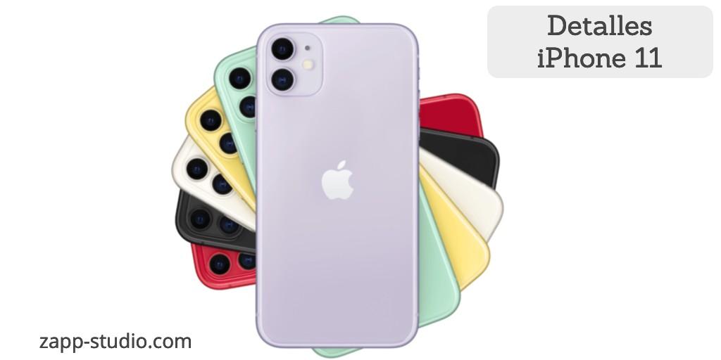 Detalles iPhone 11