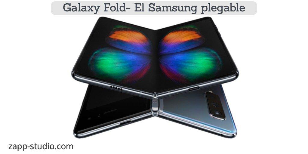 Galaxy Fold- Smartphone plegable de Samsung