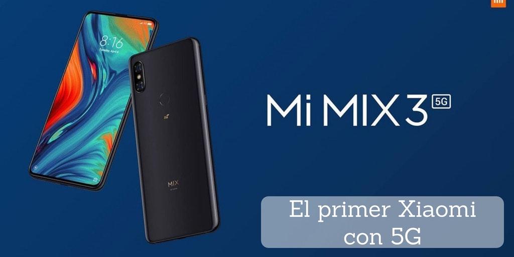 Xiaomi 5G, Xiaomi Mi Mix 3