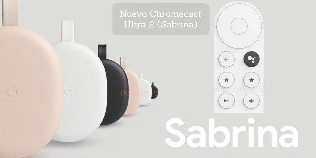 Chromecast Ultra 2 - Sabrina