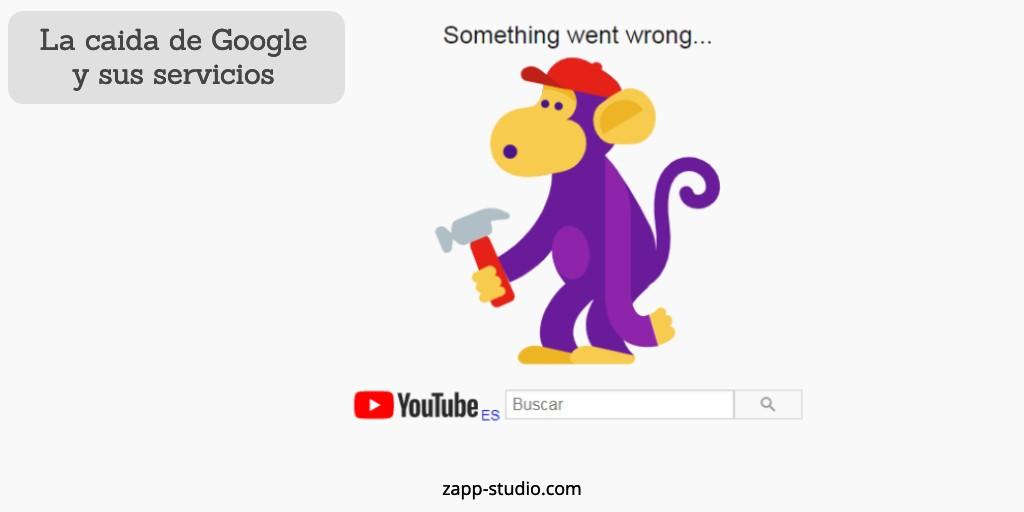 Caída de Google