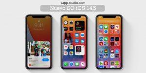Nuevo SO iOS 14.5